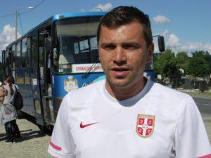 Gradiska 02 Miroslav Lajic iz MZ Vrbaska sa radoscu docekao goste foto M Pilipovic