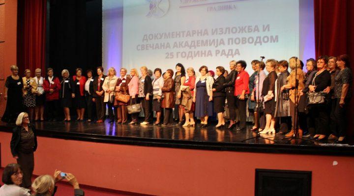 "Jubilej Udruženja ""Žena i porodica"" iz Gradiške: Dvije i po decenije humanosti i borbe za prava žena"